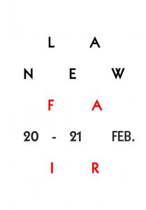 El logo de La New Fair