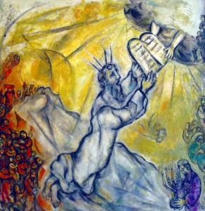 Chagall_Moses-Gesetzestafeln