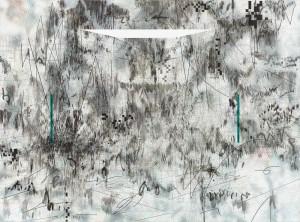 "Julie Mehretu, ""Insile"", 2013"