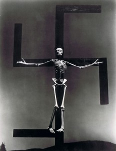 Paul Strand - Skeleton / Swastika, Connecticut, 1938