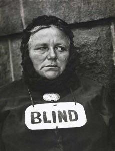 Paul Strand - Blind Woman, New York, 1916
