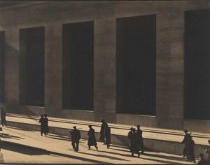Paul Strand - Wall Street, New York, 1915