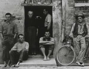 Paul Strand - La familia, Luzzara (los Lusetti), 1953