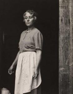 Paul Strand - Susan Thompson, cabo Split, Maine, 1945