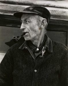 Paul Strand - El Sr. Bennett, West River Valley, Vermont, 1944