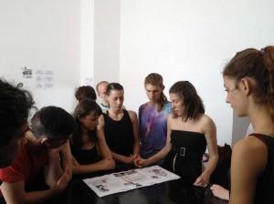 IL LINGUAGGIO DEL CORPO [Lavoro in corso], Joan Morey, 2015. Sesión de trabajo con Marta Ciappina